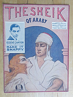 1922 The Sheik of Araby By Smith, Wheeler & Snyder  (Image1)
