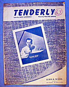 Sheet Music For 1946 Tenderly By Jack Lawrence