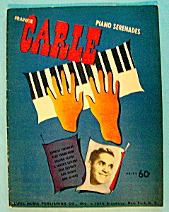 Sheet Music For 1941 Frankie Carle Piano Serenades