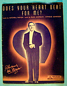 Sheet Music For 1936 Does Your Heart Beat For Me? (Image1)