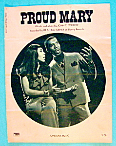 Sheet Music For 1968 Proud Mary