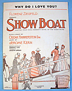 Sheet Music For 1927 Why Do I Love You?