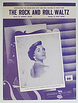 1955 The Rock And Roll Waltz By Allen & Ware