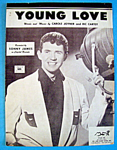 Sheet Music For 1956 Young Love