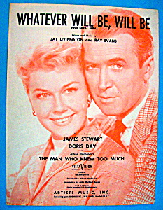 Sheet Music For 1955 Whatever Will Be, Will Be (Image1)