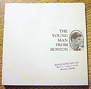 John F. Kennedy-the Young Man From Boston-1964