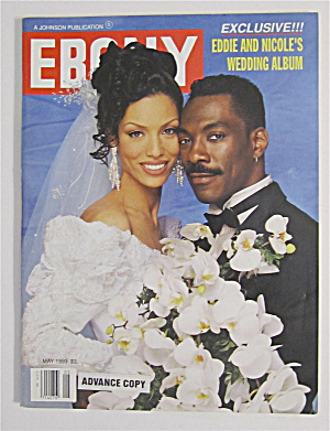 Ebony Magazine May 1993 Eddie & Nicole's Wedding Album