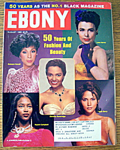 Ebony Magazine - August 1995 - 50 Years Of Beauty