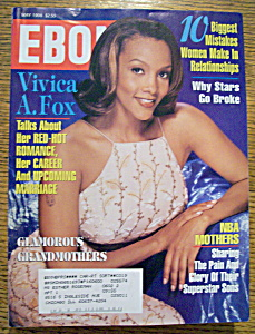 Ebony Magazine - May 1998 - Vivica A. Fox