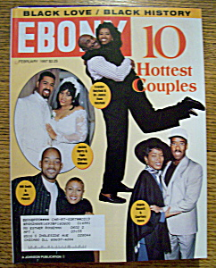 Ebony Magazine - February 1997 - 10 Hottest Couples