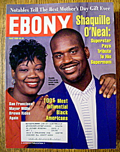 Ebony Magazine - May 1996 - Shaquille O'neal