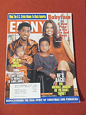 Ebony Magazine - December 2001 - Babyface