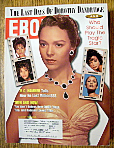 Ebony Magazine - August 1997 - Dorothy Dandridge