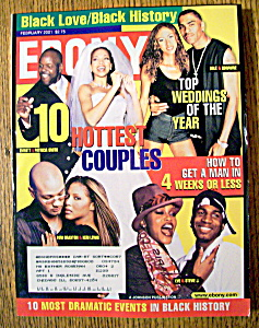 Ebony Magazine - February 2001 - 10 Hottest Couples
