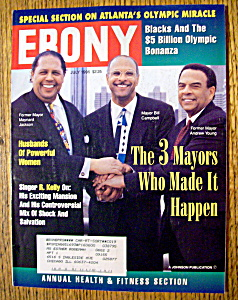 Ebony Magazine - July 1996 - 3 Mayors Made It Happen