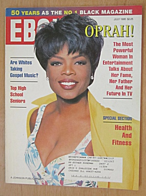 Ebony Magazine July 1995 Oprah Winfrey