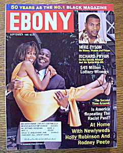 Ebony Magazine - September 1995 - Holly Robinson