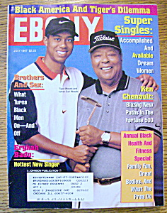 Ebony Magazine - July 1997 - Tiger Woods