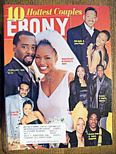 Ebony Magazine - February 1998 - 10 Hottest Couples