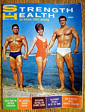 Strength & Health Magazine-november 1965-randy Watson