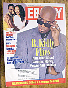 Ebony Magazine - September 1998 - R. Kelly