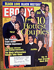 Ebony Magazine - February 1999 - 10 Hottest Couples