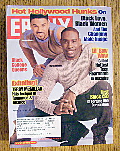 Ebony Magazine - April 2001 - S. Moore & M. Chestnut