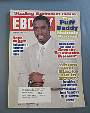 Ebony Magazine - January 2000 - Puff Daddy