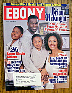 Ebony Magazine - July 2000 - Brian Mcknight