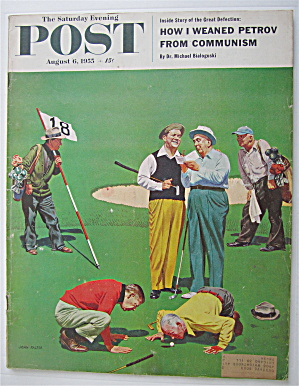 Saturday Evening Post Magazine-August 6, 1955-Falter (Image1)