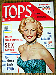 Tops In Human Highlights July 1954 Mary Ellen Kay