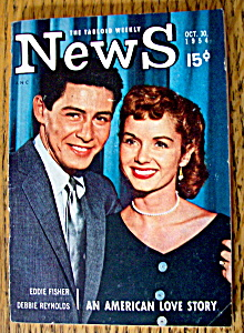 News Magazine October 30, 1954 E. Fisher/d. Reynolds