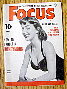 Focus Magazine July 8, 1953 Judy Hall