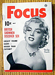 Focus Magazine May 1953 Marilyn Monroe (Image1)