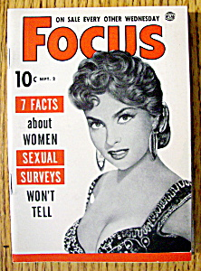 Focus Magazine September 2, 1953 Nejla Ates