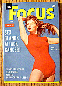 Focus Magazine September 1954 Irish Mccalla