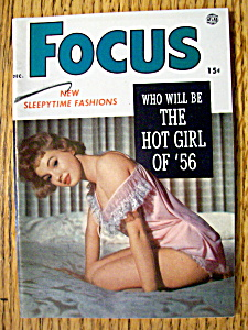 Focus Magazine December 1955 Who Will Be Hot Girl Of 56 (Image1)