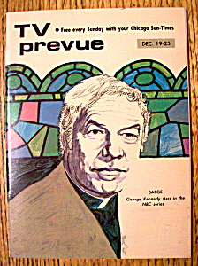 Tv Prevue December 19-25, 1971 George Kennedy