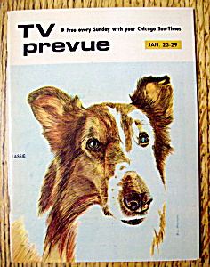 Tv Prevue January 23-29, 1972 Lassie