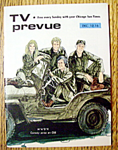Tv Prevue-december 10-16, 1972-mash On Cbs