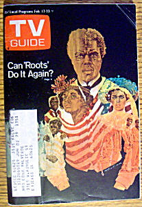 Tv Guide-february 17-23, 1979-roots