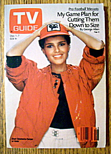 Tv Guide December 1-7, 1984 Shari Belafonte Harper