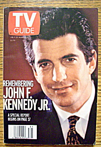 Tv Guide July 31 - August 6, 1999 John F. Kennedy Jr