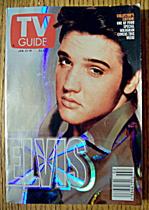 Tv Guide-january 13-19, 2001-elvis Presley