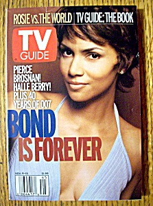 Tv Guide November 9-15, 2002 Halle Berry