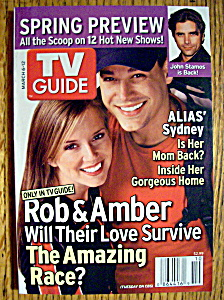 Tv Guide March 6-12, 2005 Rob & Amber