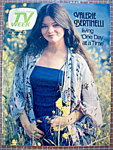 Tv Week August 20-26, 1978 Valerie Bertinelli