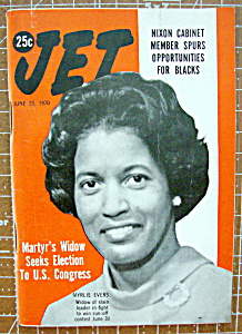 Jet Magazine June 25, 1970 Myrlie Evers