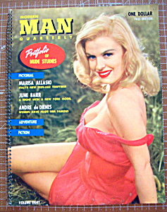 Modern Man Quarterly Magazine 1957 Fall Edition