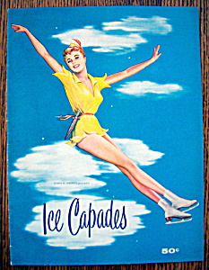 Ice Capades Program 1955 Donna Atwood